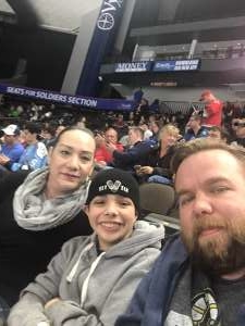 Christopher attended Jacksonville Icemen vs. Orlando Solar Bears - ECHL on Dec 14th 2019 via VetTix