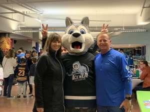 Alice attended Jacksonville Icemen vs. Orlando Solar Bears - ECHL on Dec 14th 2019 via VetTix