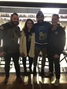 Brenden attended Jacksonville Icemen vs. Orlando Solar Bears - ECHL on Dec 14th 2019 via VetTix