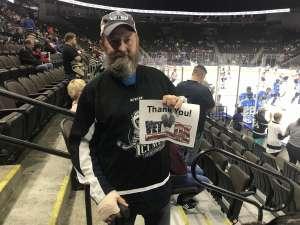 Curtis attended Jacksonville Icemen vs. Orlando Solar Bears - ECHL on Dec 14th 2019 via VetTix