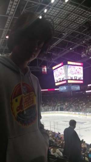 Candace attended Jacksonville Icemen vs. Orlando Solar Bears - ECHL on Dec 14th 2019 via VetTix