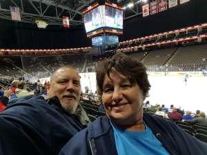 Richard attended Jacksonville Icemen vs. Orlando Solar Bears - ECHL on Dec 14th 2019 via VetTix
