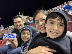 Rudy attended Monster Energy Supercross on Feb 15th 2020 via VetTix