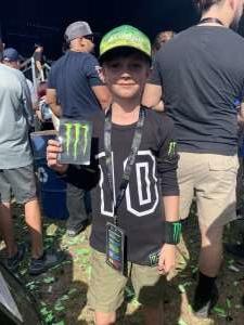 Jerome attended Monster Energy Supercross on Feb 15th 2020 via VetTix