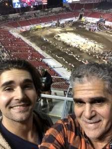 Ricardo  attended Monster Energy Supercross on Feb 15th 2020 via VetTix