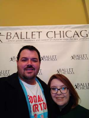 Jacob attended Ballet Chicago Performs the Nutcracker - Saturday on Dec 14th 2019 via VetTix