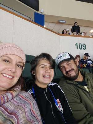 Edward attended Texas Stars vs Rockford IceHogs - AHL on Nov 23rd 2019 via VetTix