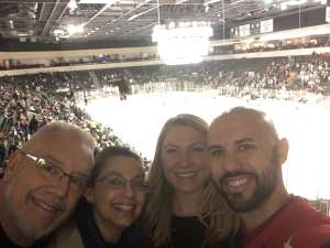 Stephen attended Texas Stars vs Rockford IceHogs - AHL on Nov 23rd 2019 via VetTix