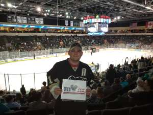 jeremy attended Texas Stars vs Rockford IceHogs - AHL on Nov 23rd 2019 via VetTix
