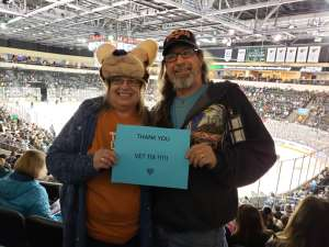 Carla attended Texas Stars vs Rockford IceHogs - AHL on Nov 23rd 2019 via VetTix
