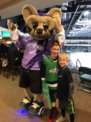 James attended Texas Stars vs Rockford IceHogs - AHL on Nov 23rd 2019 via VetTix