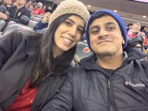 Kapil attended New Jersey Devils vs. Vegas Golden Knights NHL on Dec 3rd 2019 via VetTix