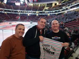 Click To Read More Feedback from New Jersey Devils vs. Vegas Golden Knights NHL