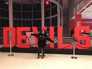 Melinda attended New Jersey Devils vs. Vegas Golden Knights NHL on Dec 3rd 2019 via VetTix