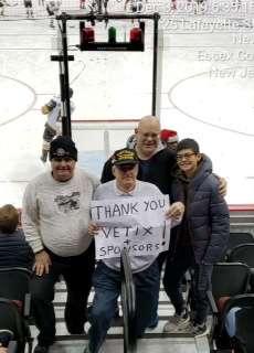 douglas attended New Jersey Devils vs. Vegas Golden Knights NHL on Dec 3rd 2019 via VetTix