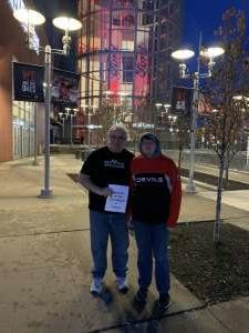 Robert attended New Jersey Devils vs. Vegas Golden Knights NHL on Dec 3rd 2019 via VetTix