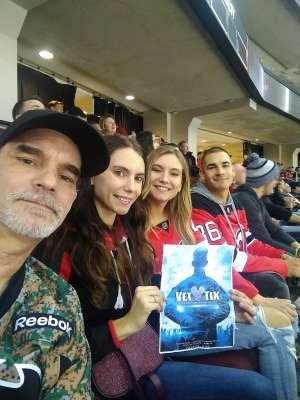 james Rossmeissl attended New Jersey Devils vs. Vegas Golden Knights NHL on Dec 3rd 2019 via VetTix