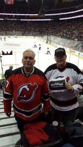 Christopher attended New Jersey Devils vs. Vegas Golden Knights NHL on Dec 3rd 2019 via VetTix