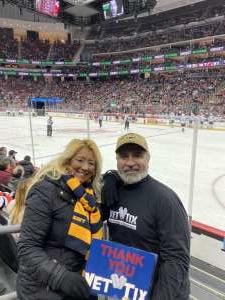 Arturo attended New Jersey Devils vs. Vegas Golden Knights NHL on Dec 3rd 2019 via VetTix