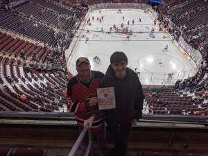 Frank attended New Jersey Devils vs. Vegas Golden Knights NHL on Dec 3rd 2019 via VetTix