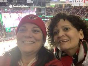 Stacy attended New Jersey Devils vs. Vegas Golden Knights NHL on Dec 3rd 2019 via VetTix