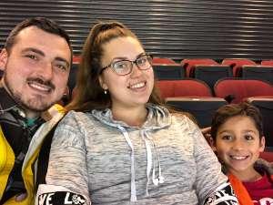 Raymond attended New Jersey Devils vs. Vegas Golden Knights NHL on Dec 3rd 2019 via VetTix