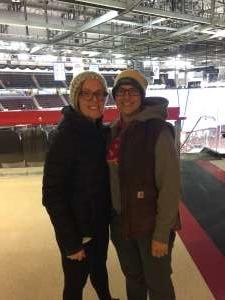 Mary attended New Jersey Devils vs. Vegas Golden Knights NHL on Dec 3rd 2019 via VetTix
