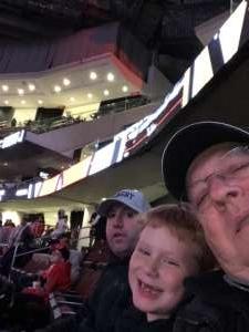 Jack attended New Jersey Devils vs. Vegas Golden Knights NHL on Dec 3rd 2019 via VetTix