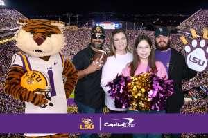 Jarod attended LSU Tigers vs. University of Arkansas Razorbacks - NCAA Football - 11/23/2019 Etix on Nov 23rd 2019 via VetTix