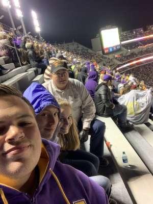 Kevin attended LSU Tigers vs. University of Arkansas Razorbacks - NCAA Football - 11/23/2019 Etix on Nov 23rd 2019 via VetTix
