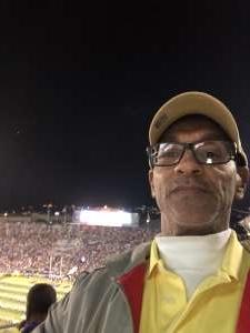 Harold attended LSU Tigers vs. University of Arkansas Razorbacks - NCAA Football - 11/23/2019 Etix on Nov 23rd 2019 via VetTix