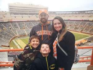 Chance attended University of Tennessee Vols vs. Vanderbilt - NCAA Football - Read Notes Before Claiming on Nov 30th 2019 via VetTix