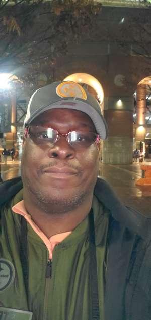 Terrence attended University of Tennessee Vols vs. Vanderbilt - NCAA Football - Read Notes Before Claiming on Nov 30th 2019 via VetTix