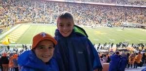 Thomas attended University of Tennessee Vols vs. Vanderbilt - NCAA Football - Read Notes Before Claiming on Nov 30th 2019 via VetTix