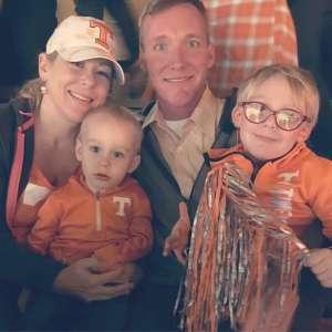 Eric attended University of Tennessee Vols vs. Vanderbilt - NCAA Football - Read Notes Before Claiming on Nov 30th 2019 via VetTix