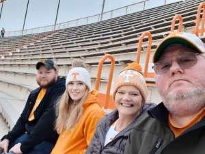 earl attended University of Tennessee Vols vs. Vanderbilt - NCAA Football - Read Notes Before Claiming on Nov 30th 2019 via VetTix