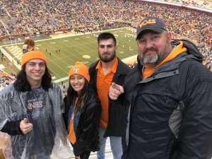 Mayford attended University of Tennessee Vols vs. Vanderbilt - NCAA Football - Read Notes Before Claiming on Nov 30th 2019 via VetTix