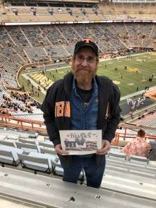 Tommy attended University of Tennessee Vols vs. Vanderbilt - NCAA Football - Read Notes Before Claiming on Nov 30th 2019 via VetTix