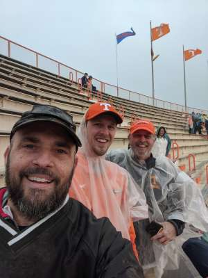 Daniel attended University of Tennessee Vols vs. Vanderbilt - NCAA Football - Read Notes Before Claiming on Nov 30th 2019 via VetTix