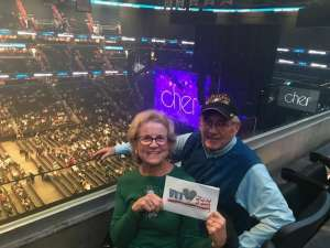 Thomas attended Cher: Here We Go Again Tour on Dec 10th 2019 via VetTix