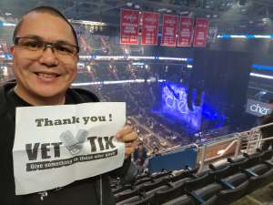 David attended Cher: Here We Go Again Tour on Dec 10th 2019 via VetTix