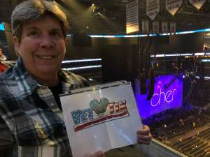 Mary attended Cher: Here We Go Again Tour on Dec 10th 2019 via VetTix