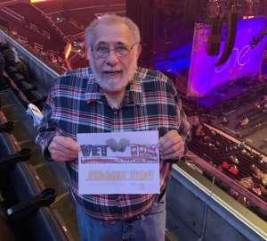 Larry attended Cher: Here We Go Again Tour on Dec 10th 2019 via VetTix