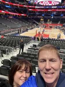 Phil & Robyn attended Washington Wizards vs. Orlando Magic - NBA on Dec 3rd 2019 via VetTix