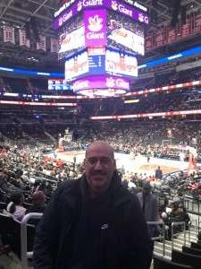 James attended Washington Wizards vs. Orlando Magic - NBA on Dec 3rd 2019 via VetTix