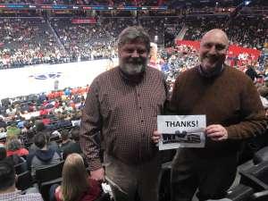 Andrew attended Washington Wizards vs. Orlando Magic - NBA on Dec 3rd 2019 via VetTix