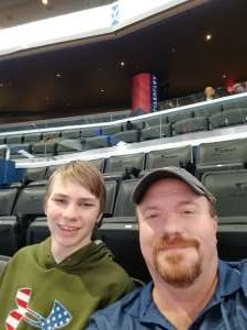 John attended Washington Wizards vs. Orlando Magic - NBA on Dec 3rd 2019 via VetTix