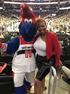 Yolie attended Washington Wizards vs. Orlando Magic - NBA on Dec 3rd 2019 via VetTix