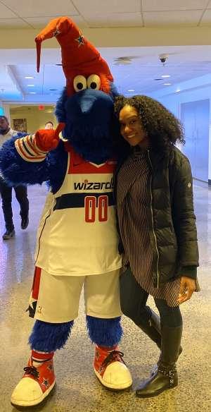 Kristi attended Washington Wizards vs. Orlando Magic - NBA on Dec 3rd 2019 via VetTix