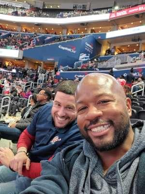 Jesse attended Washington Wizards vs. Orlando Magic - NBA on Dec 3rd 2019 via VetTix